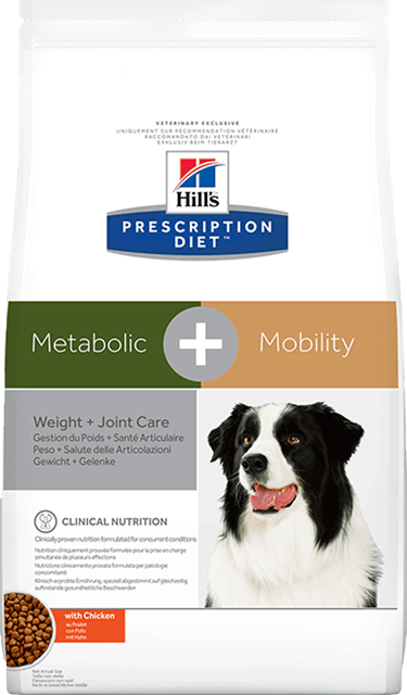 Hill's Prescription Diet Metabolic + Mobility for Dogs preview image